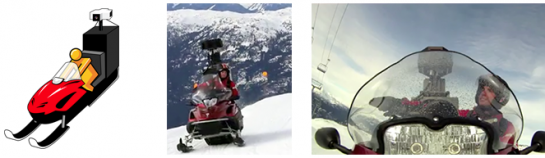 Once we were able to take the Trike to all of these interesting places, we got to thinking about where else we could go and had the idea of putting our Street View equipment on a snowmobile.