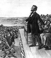 Lincoln speaking